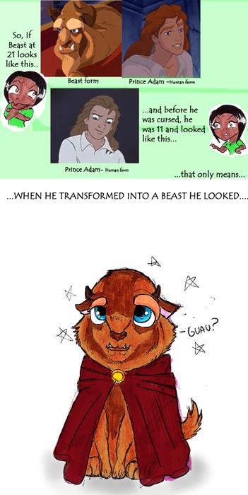 Beauty and the Beast cartoons disney Fan Art - 8158297344