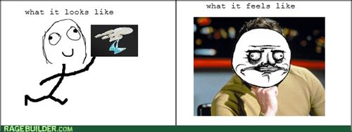 enterprise me gusta Star Trek Captain Kirk - 8158301440
