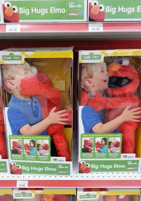 elmo kids hug parenting toys - 8158426624