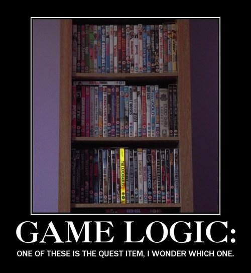 logic,video games,quest item
