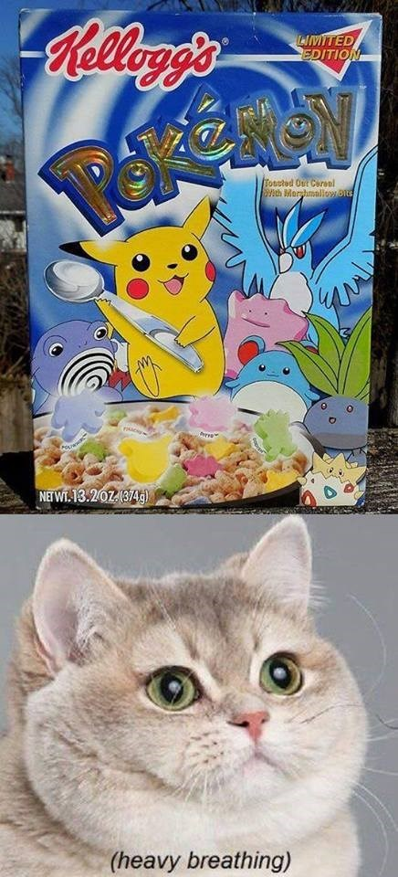 cereal food Pokémon heavy breathing - 8158487296