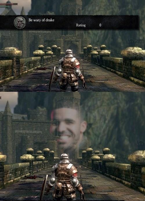 Drake,dark souls