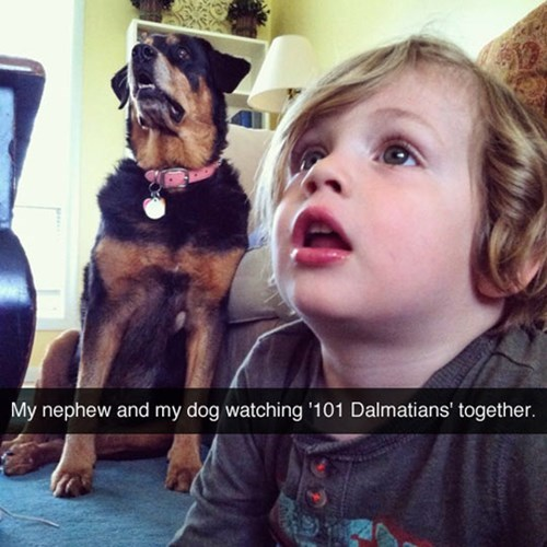 cute,dogs,kids,movies,captivated