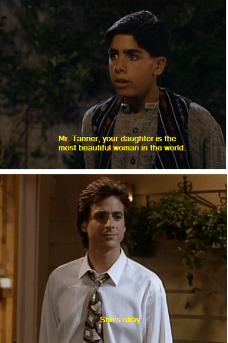 full house funny love danny tanner