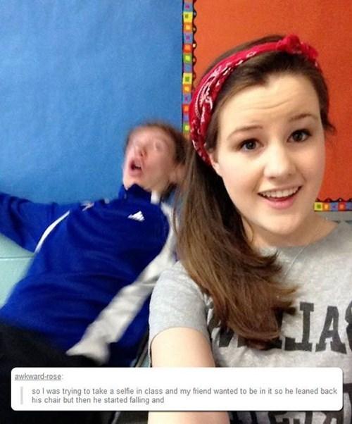 Perfect Timing tumblr selfie