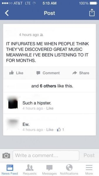 before it was cool hipster Music - 8158806016
