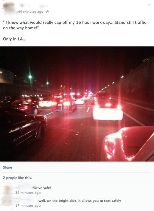 cars driving Traffic Jam texting - 8159037696