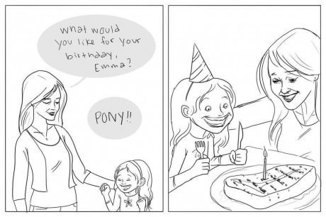 A Little Girl's Birthday