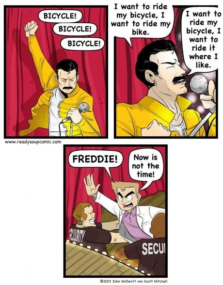 bicycles freddie mercury pokemon trainer web comics - 8159518208
