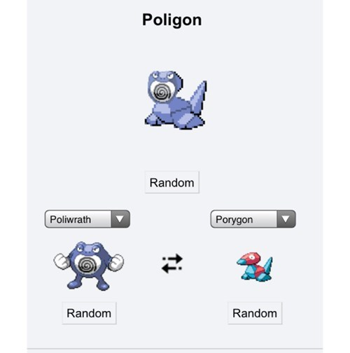 Pokémon poliwrath porygon pokemon fusion - 8159545344