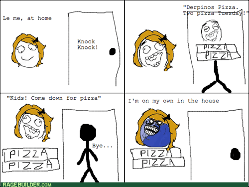 delivery,i lied,pizza