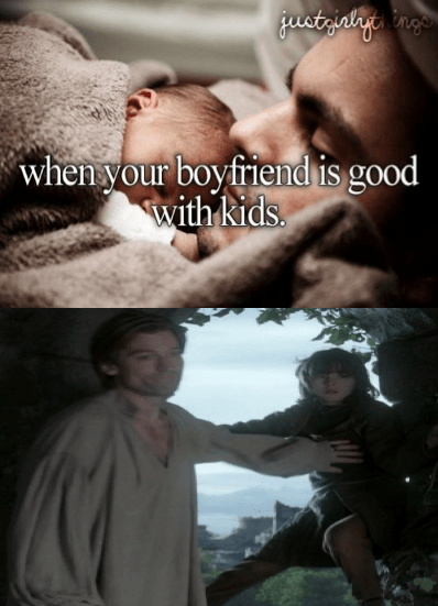 just girly things Game of Thrones jaime lannister