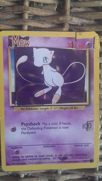 mew pokemon cards - 8159868672