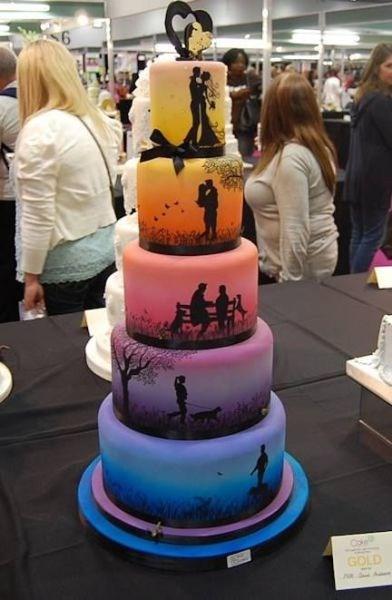 art cake love weddings - 8159875072