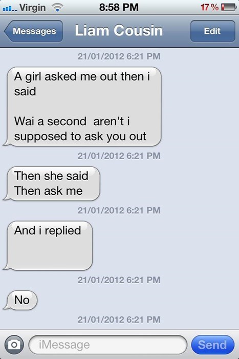 funny rejection text g rated dating - 8159914240