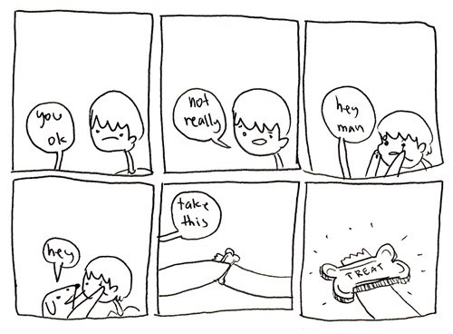 dogs people treats web comics