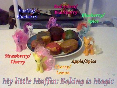 mane 6 muffins - 8160130048