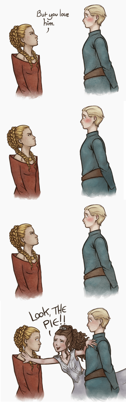Fan Art Game of Thrones season 4 web comics purple wedding margaery tyrell - 8160152064
