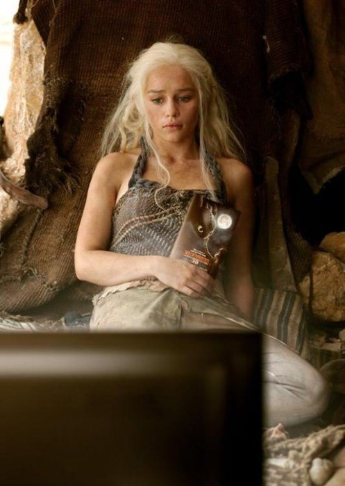 Daenerys Targaryen Game of Thrones dragons - 8160161024