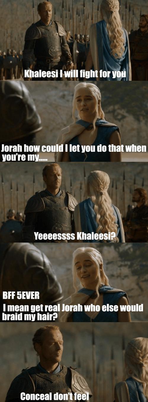 Game of Thrones jorah mormont season 4