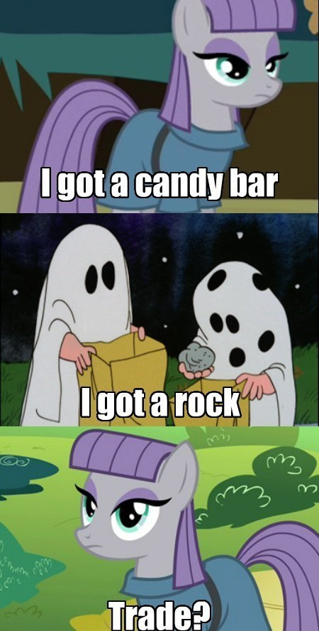 rocks,charlie brown,maud pie