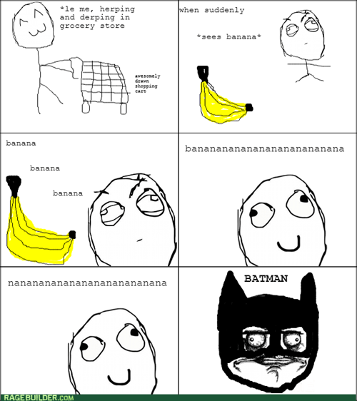 me gusta,banana,batman,grocery shopping,Theme Song