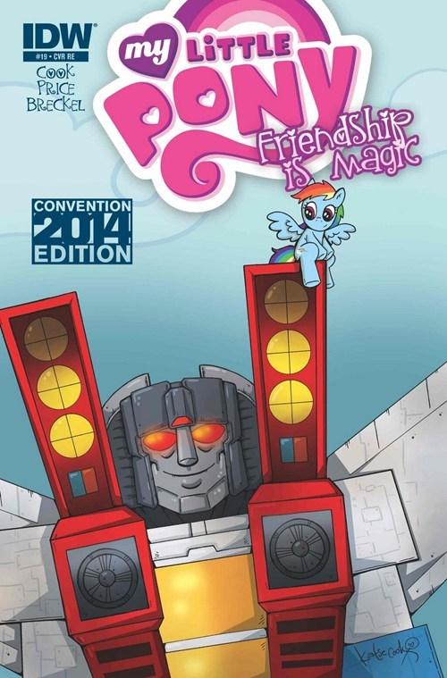 transformers comic book rainbow dash - 8160456192