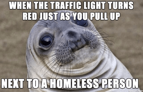 awkward situation seal,driving,awkward seal,traffic
