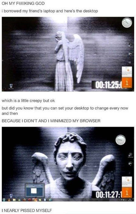 weeping angels,troll