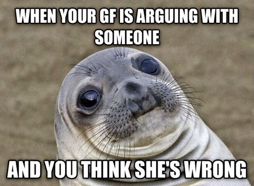 awkward situation seal relationships awkward seal dating - 8160835328