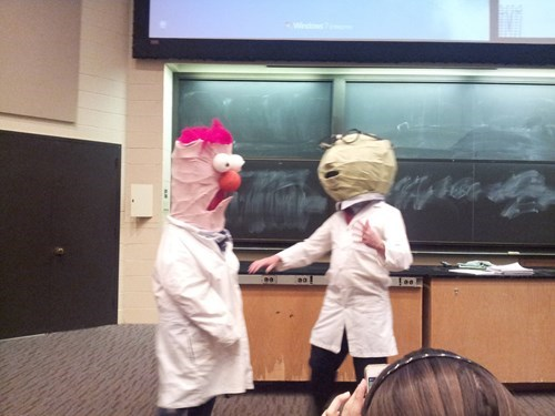 beaker school muppets bunsen bunsen and beaker college - 8160905472