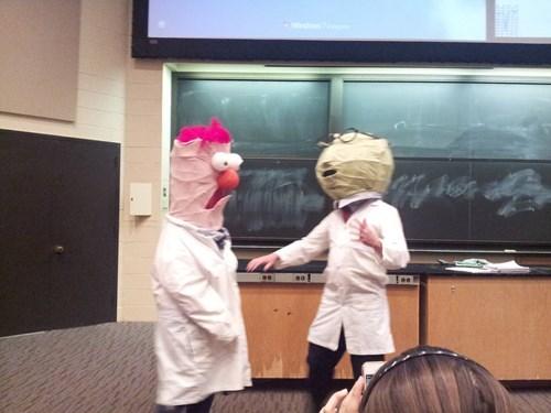 beaker school muppets bunsen bunsen and beaker college - 8160905472