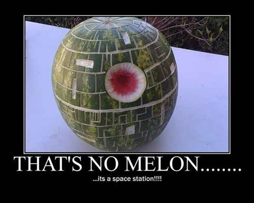 star wars Fan Art watermelon - 8160912384