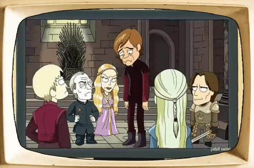 rick and morty Game of Thrones tyrion lannister - 8160916480