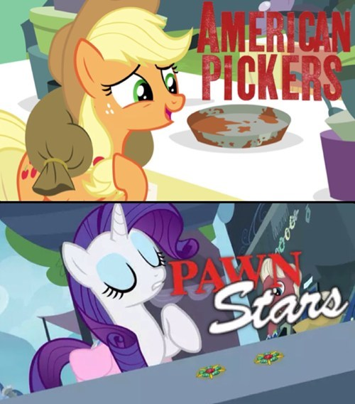 applejack reality shows rarity - 8160935936
