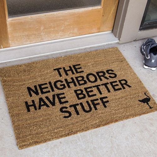 neighbors doormats welcome mats - 8160960256