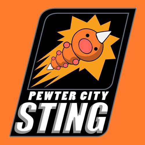 Logo - PEWTER CITY STING