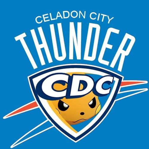 Logo - CELADON CITY THUNDER CDC
