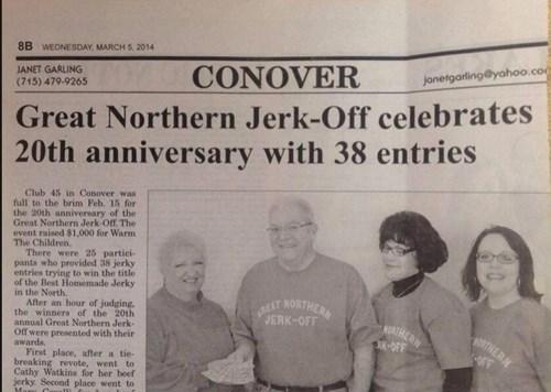 headline accidental sexy newspaper - 8161057280