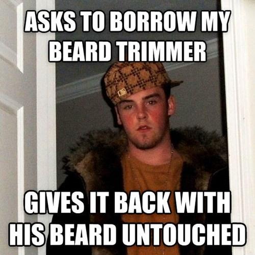 shaving,Scumbag Steve