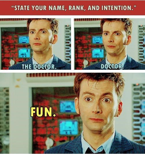 fun doctor who funny id - 8161317120