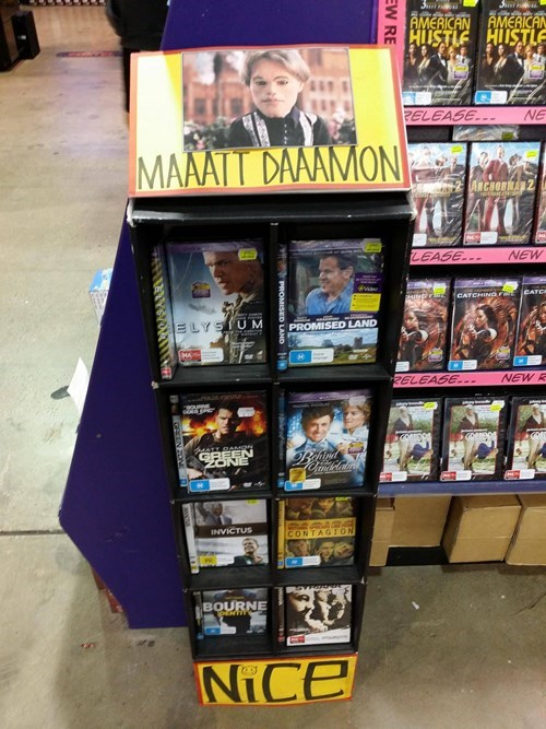 matt damon team america world police Walmart - 8161792512