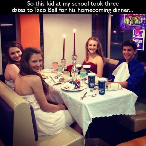 taco bell,homecoming