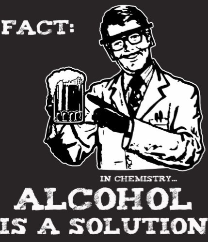 alcohol chemsitry solution funny - 8161843200