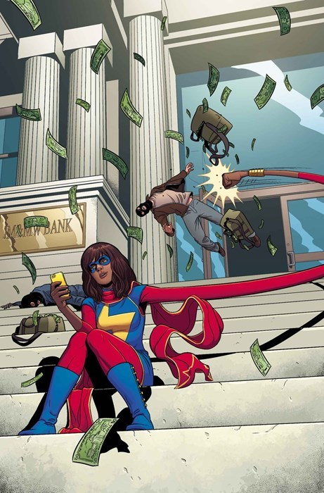 text,ms marvel,Straight off the Page