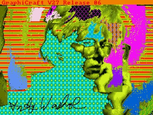 amiga art Andy Warhol - 8161853440