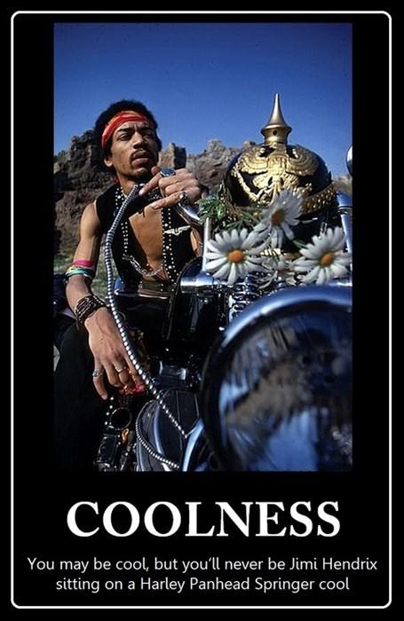 cool motorcycle jimi hendrix funny - 8161956096