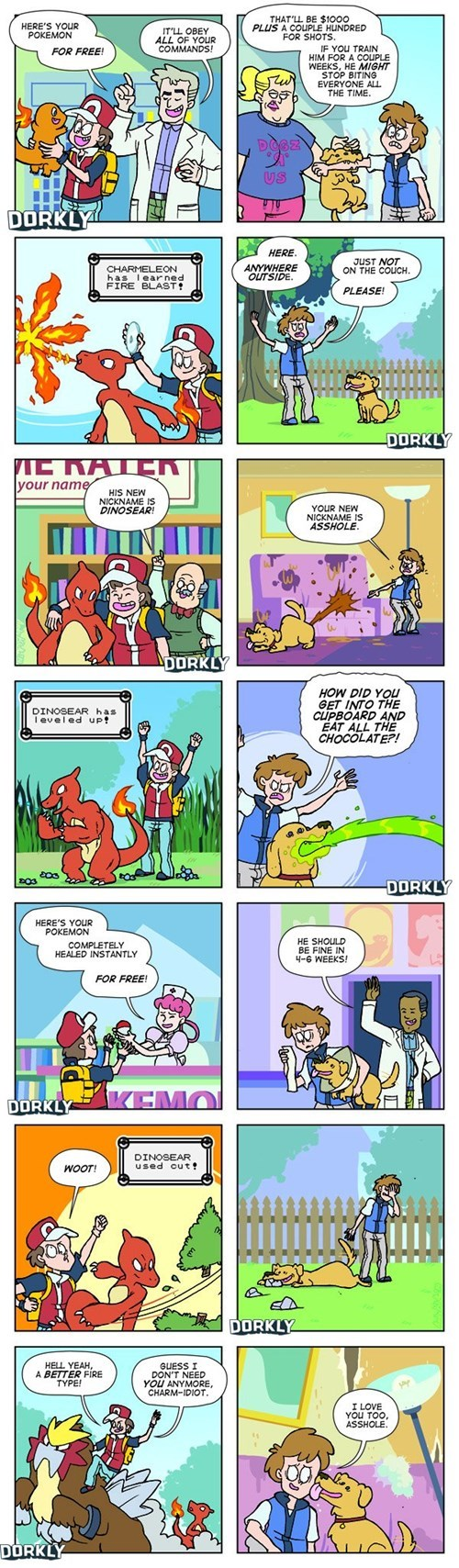 Pokémon dorkly pets animals web comics - 8161969920
