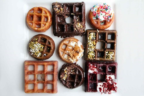 donuts wonut food chicago waffles - 8161997568