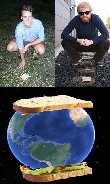 Iceland,new zealand,biggest sandwich ever,sandwiches